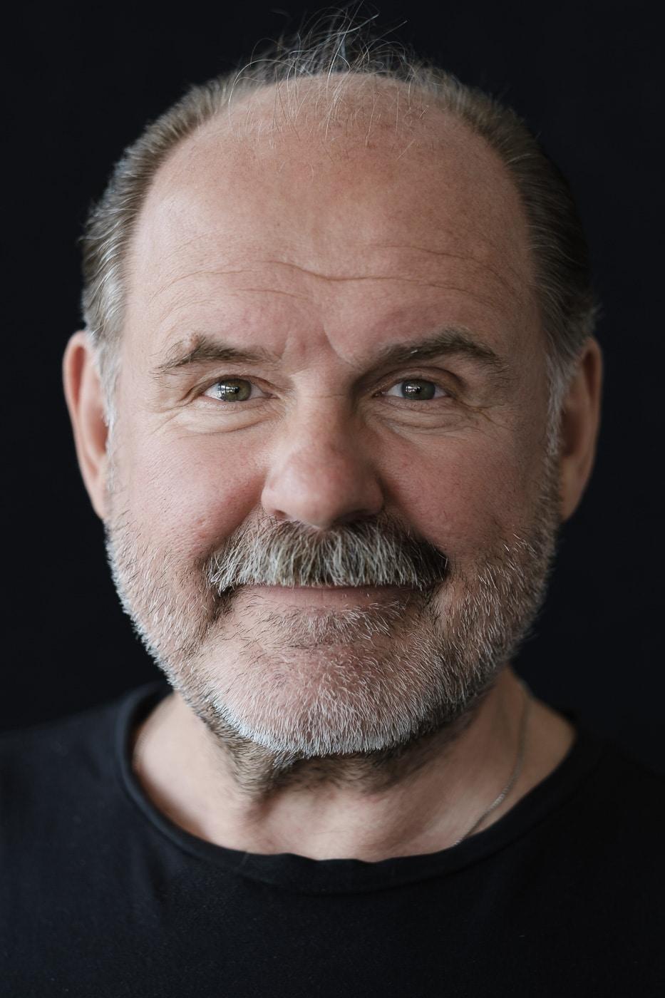 August Schmölzer mit Bart