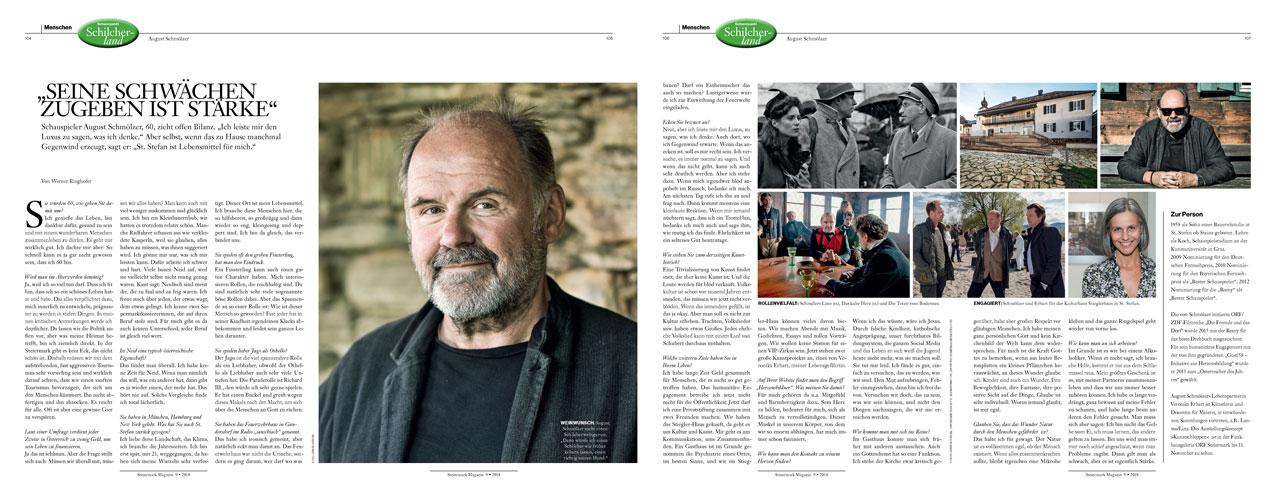 August Schmölzer Steiermark Magazin